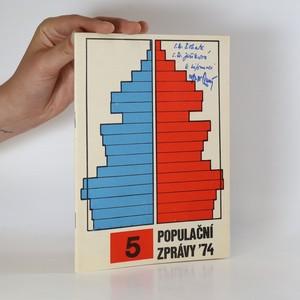 náhled knihy - Populační zprávy '74