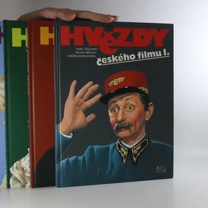 náhled knihy - Hvězdy českého filmu. 1.-4. díl (4 svazky, komplet)