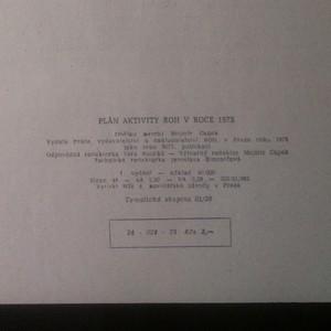 antikvární kniha Plán aktivity Revolučního odborového hnutí v roce 1975 , 1975