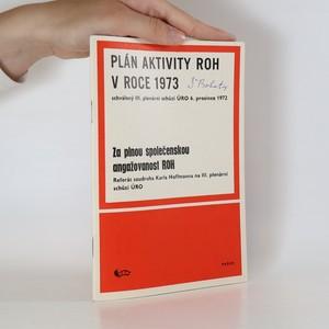 náhled knihy - Plán aktivity ROH v roce 1973 schválený
