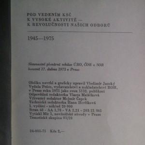 antikvární kniha Pod vedením KSČ k vysoké aktivitě - k revolučnosti našich oborů, 1975