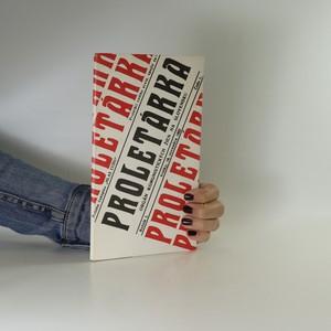 náhled knihy - Proletárka. Orgán komunistických žien na Slovensku (Ročník 1, číslo 1)