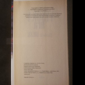 antikvární kniha Vysoká hra, 2001