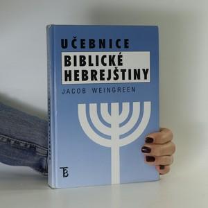 náhled knihy - Učebnice biblické hebrejštiny