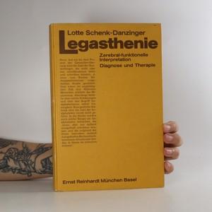 náhled knihy - Legasthenie. Zerebral-funktionelle Interpretation
