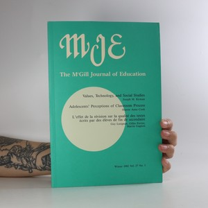 náhled knihy - The McGill Journal of Education
