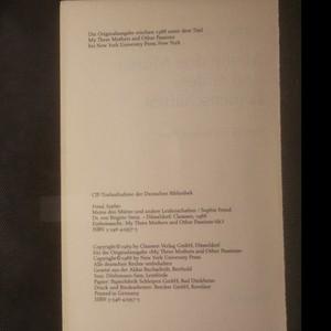 antikvární kniha Meine drei Mütter und andere Leidenschaften , 1988