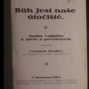 antikvární kniha Bůh jest naše útočiště, 1914
