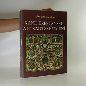 náhled knihy - Raně křesťanské a byzantské umění.