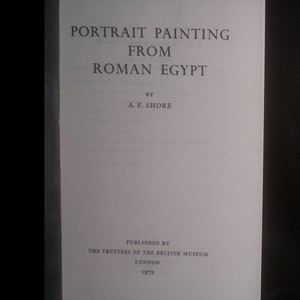 antikvární kniha Portrait Painting from Roman Egypt, 1972
