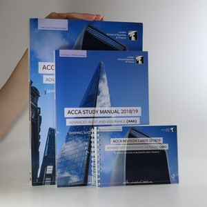 náhled knihy - ACCA. Advanced Audit and Assurance. Study manual. Question bank. Revision cards (3 svazky)