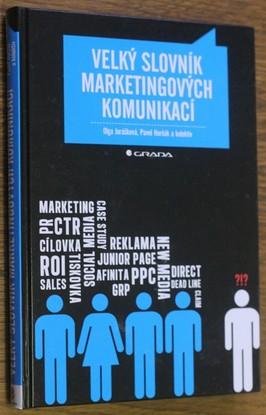 náhled knihy - Velký slovník marketingových komunikací