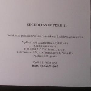 antikvární kniha Securitas imperii. 11, 2005