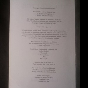 antikvární kniha The stretch, 2000