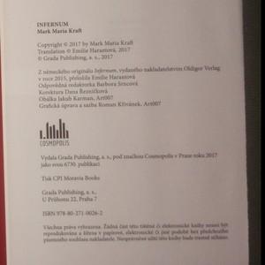 antikvární kniha Infernum, 2017