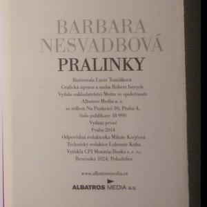 antikvární kniha Pralinky, 2014