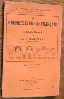 náhled knihy - le Premier livre de francais