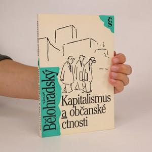 náhled knihy - Kapitalismus a občanské ctnosti
