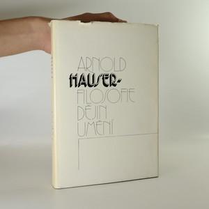 náhled knihy - Filosofie dějin umění