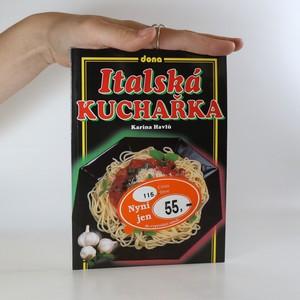 náhled knihy - Italská kuchařka