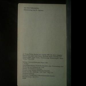 antikvární kniha Unnütze Erinnerungen, neuveden