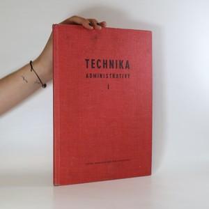 náhled knihy - Technika administrativy I