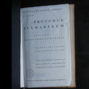antikvární kniha Průvodce Bulharskem , 1938