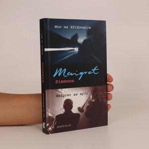 náhled knihy - Noc na křižovatce. Maigret se mýlí