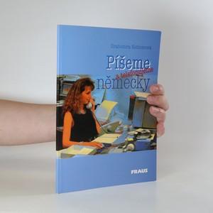 náhled knihy - Píšeme a telefonujeme německy