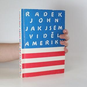 náhled knihy - Jak jsem viděl Ameriku (s podpisem autora)