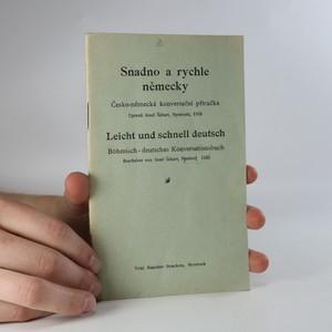 náhled knihy - Snadno a rychle německy. Česko-německá konversační příručka.