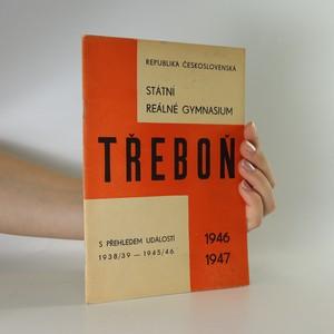 náhled knihy - Státní reálné gymnasium Třeboň