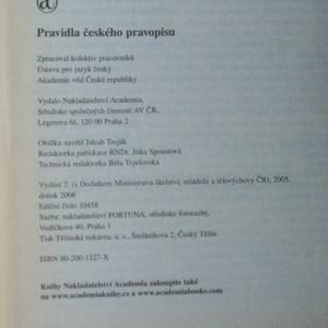antikvární kniha Pravidla českého pravopisu, 2006
