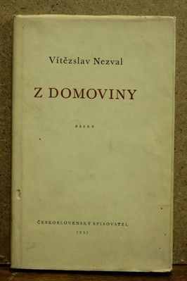 náhled knihy - Z domoviny : Báseň 1950