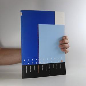 náhled knihy - Satztechnik und Typografie. Band 3