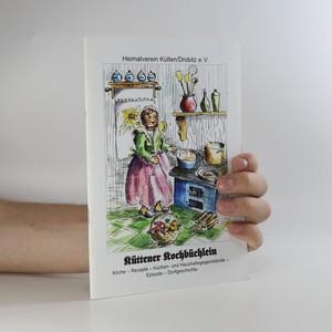náhled knihy - Küttener Kochbüchlein