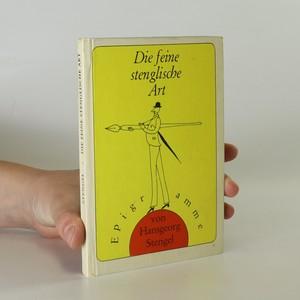 náhled knihy - Die feine stenglische Art