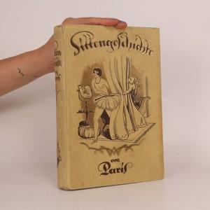 náhled knihy - Sittengeschichte von Paris
