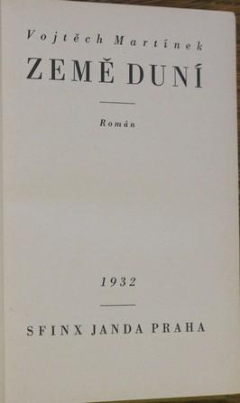 náhled knihy - Země duní : román