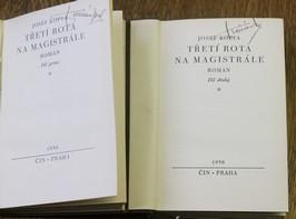 náhled knihy - Třetí rota na magistrále : román, první a druhý díl