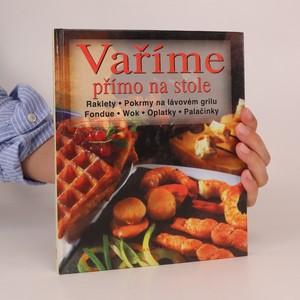 náhled knihy - Vaříme přímo na stole