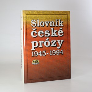 náhled knihy - Slovník české prózy. 1945-1994