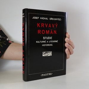 náhled knihy - Krvavý román. Studie kulturně a literárně historická