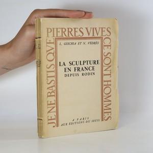 náhled knihy - La Sculpture en France