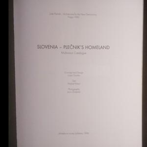 antikvární kniha Slovenia - Plečnik's Homeland, 1996