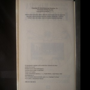 antikvární kniha Tajemství šifry mistra Leonarda, 2005
