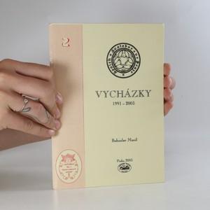 náhled knihy - Vycházky 1991-2003