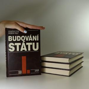 náhled knihy - Budování státu I.-IV. díl (4 svazky)