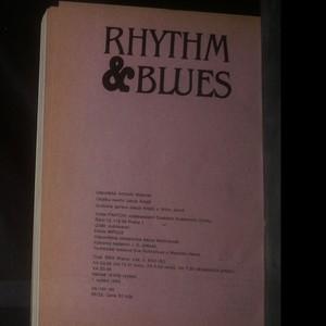 antikvární kniha Rhythm & blues, 1985