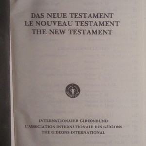 antikvární kniha Das Neue Testament. Le Nouveau Testament. The New Testament, neuveden